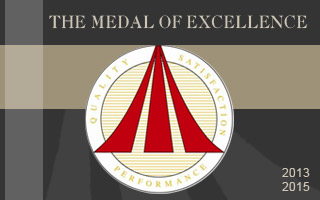 Reupert wins the Medal of Excellence Award